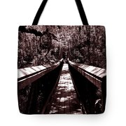 Suspension Bridge Tote Bag