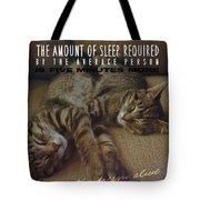 Suspension Of Consciousness Quote Tote Bag