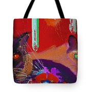 Suspicious Minds Tote Bag