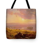 Susquehanna River Tote Bag by Jasper Francis Cropsey