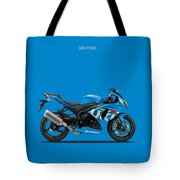 Suzuki Gsx R1000 Tote Bag