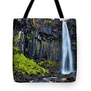 Svartifoss Waterfall - Iceland Tote Bag