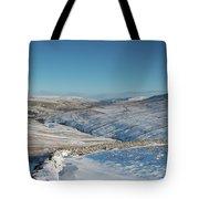 Swaledale In Winter Tote Bag
