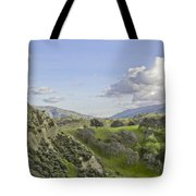 Swallow Bay Cliffs Tote Bag