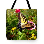 Swallow Tail Butterfly Enjoying The Sunshine Tote Bag