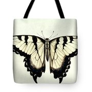 Swallow-tail Butterfly Tote Bag