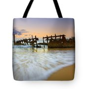 Swallowed By The Tides Tote Bag