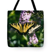 Swallowtail Butterfly At The Maryland Zoo Tote Bag