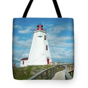 Swallowtail Lighthouse Tote Bag