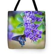 Swallowtail On Mountain Laurel Tote Bag