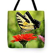 Swallowtail Resting Tote Bag