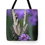 Swallowtail Staredown Tote Bag