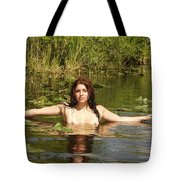 Swamp Beauty Three Tote Bag