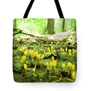 Swamp Becon Fungi Tote Bag