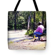 Swamp Fishing Tote Bag