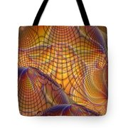 Swamp Gas Mesh Tote Bag