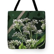 Swamp Milkweed Abstract Tote Bag
