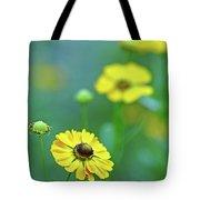 Swamp Sunflower Tote Bag