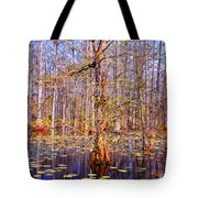Swamp Tree Tote Bag