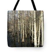 Swamp Trees Tote Bag