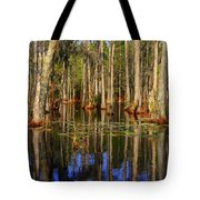 Swamp Trees Tote Bag