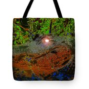 Swampthing Out There Tote Bag