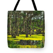 Swampy Beauty Tote Bag