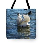 Swan 001 Tote Bag