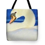 Swan 9 Tote Bag