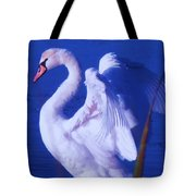 Swan At Cape May Point State Park  Tote Bag