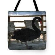 Swan Chairs Tote Bag