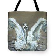 Swan Dance Tote Bag