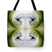 Swan Dancing Tote Bag