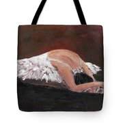 Swan Despair 2 Tote Bag