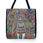 Swan Fish Tote Bag
