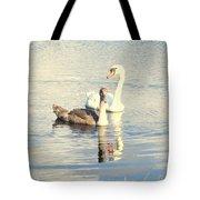 Swan G Tote Bag