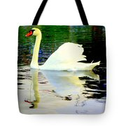 Who Is Afraid Of The Big White Swan  Tote Bag by Hilde Widerberg
