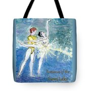 Swan Lake Ballet Poster Tote Bag