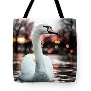 Swan Lake Night 2 Tote Bag