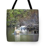 Swan Life Tote Bag