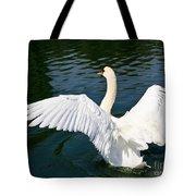 Swan Moment Tote Bag