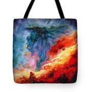 Swan Nebula Tote Bag