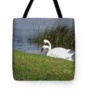 Swan Pair As Photographed Tote Bag