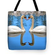 Swan Princess Tote Bag