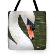 Swan Profile Tote Bag