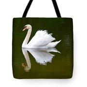 Swan Reflecting Tote Bag