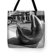 Swan Sculpture Grand Junction Co Tote Bag