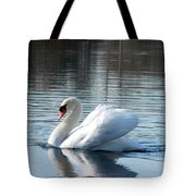 Swan Song Tote Bag