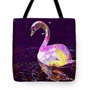 Swan Water Bird Water River  Tote Bag