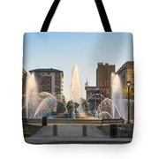 Swann Fountain In The Springtime Tote Bag